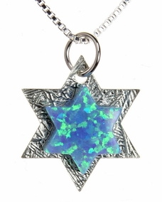The Shield of King David Necklace