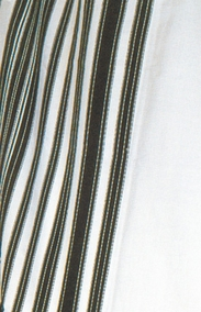 Traditional Habad Tallit of delicate special wool for Bar Mitzvah boy 140X190