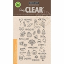 Hero Arts Holiday Icons Planner Clear Stamps