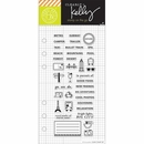 Hero Arts Kelly Purkey Adventure Planner Clear Stamps