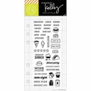 Hero Arts Kelly Purkey Food Planner Clear Stamps