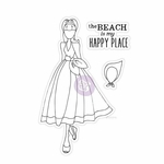 Prima Julie Nutting Cling Stamp Camille