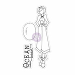 Prima Julie Nutting Cling Stamp Gina