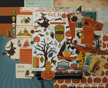 Scrapbook Kit - Happy Halloween (S/O)
