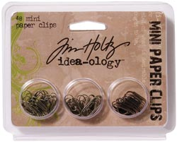 "Tim Holtz Idea-Ology .625"" Mini Paper Clips"