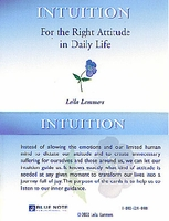 INTUITION, Leila Lammers