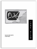 June Blum Black and White Paintings
