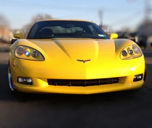 C6 Cleartastic Plus-  Front Nose Paint Protection kit