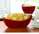 2-Tier Chip & Dip Set