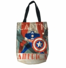 Art Deco Captain America Tote