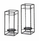 Ballast Candle Stands Duo
