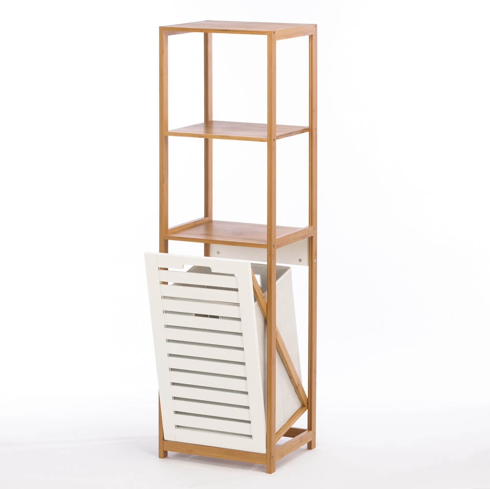 Bamboo Hamper Storage Shelves Wholesale At Koehler Home Decor