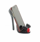 Black Bow Shoe Phone Holder