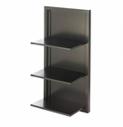 Black Folding Wall Shelf