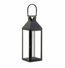 Black Manhatten Candle Lantern