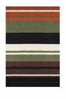 Bold Stripe Handloom Cotton Rug 4' X 6'