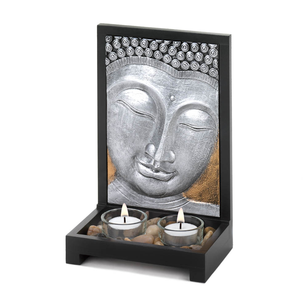 Buddha Plaque Candle Decor Wholesale at Koehler Home Decor
