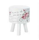 Butterfly Post Foot Stool