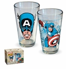 Captain America Pint Glass Set