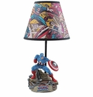 Captain America Statue Lamp