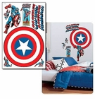 �Captain America Vintage Shield Wall Decal