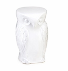 Ceramic Owl Stool