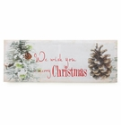 Christmas Tidings LED Wall Art