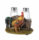 Country Farm Rooster Salt & Pepper Holder