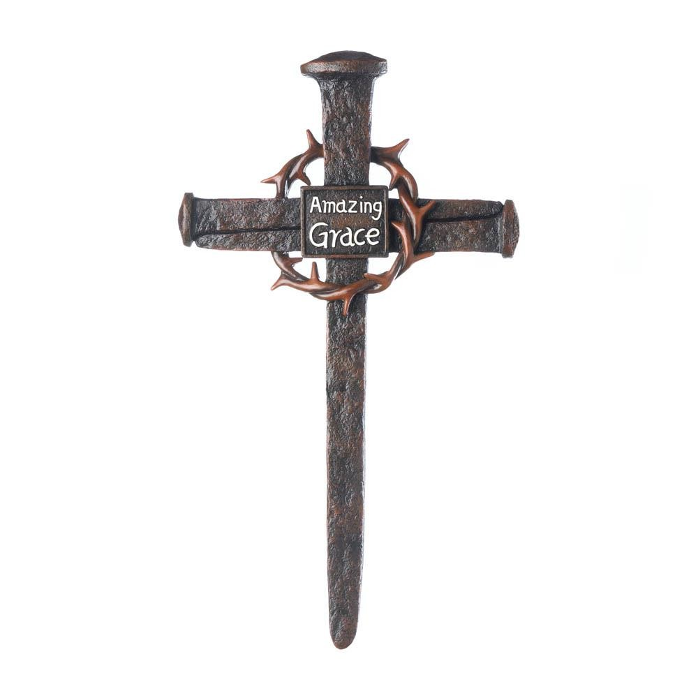 Crown Of Thorns Nail Cross Wholesale at Koehler Home Decor