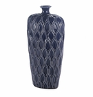 Deep Blue Tall Lip Vase