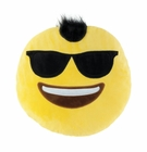 Emoji Mohawk Plush Throw Pillow