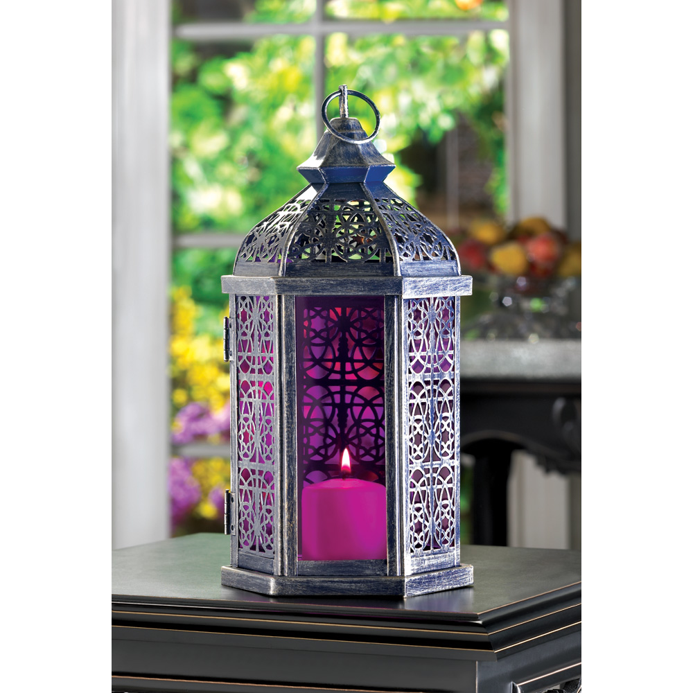 Enchanted Amethyst Candle Lamp Wholesale at Koehler Home Decor