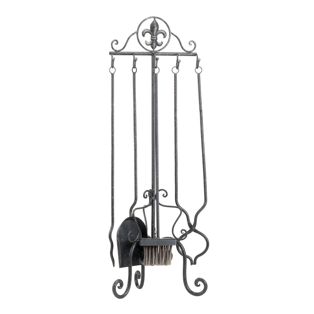 fleur de lis fireplace tool set wholesale at koehler home fleur de lis home decor