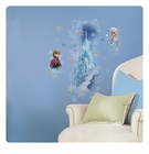 Frozen Ice Palace With Elsa And Anna Giant Wall Decal