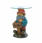 Garden Gnome Accent Table