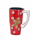 Gingerbread Man Travel Mug