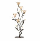 Golden Bouquet Candle Holder