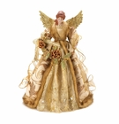 Golden Christmas Angel Tree Topper