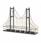 Golden Gate Candle Holder
