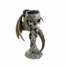 Green Dragon Candle Holder