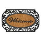 Grill Border Welcome Mat
