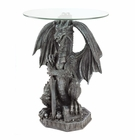 Guarding Dragon Accent Table