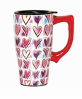 Hearts Travel Mug