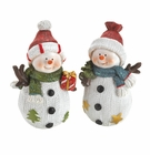 Holiday Fun Snowman Buddies Figurines
