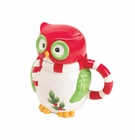 Holiday Hoot Mug with Lid