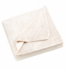 Ivory Sherpa Fleece Blanket
