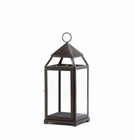 Large Bronze Contemporary Lantern