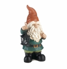 Lighted Lantern Garden Gnome