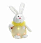 Lighted  Yellow Plush Bunny