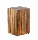 Log Block Side Table